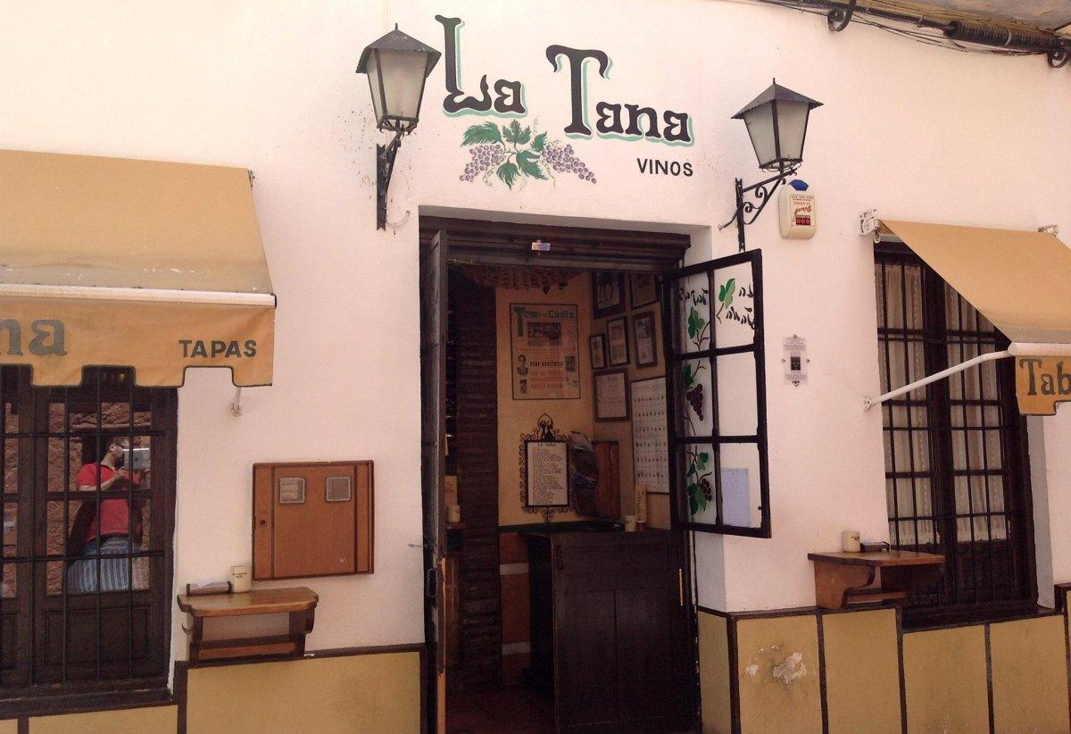 Exterior de La Tana