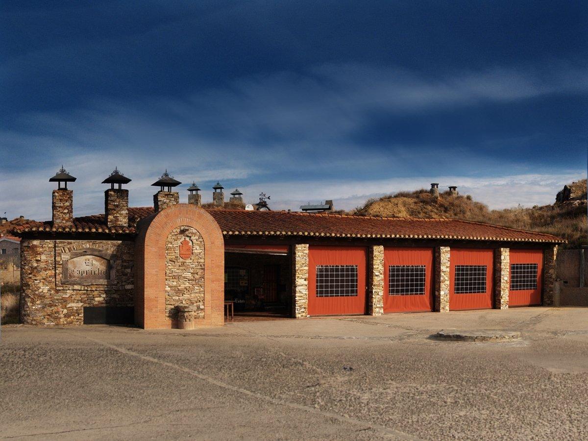 Exterior del restaurante El Capricho