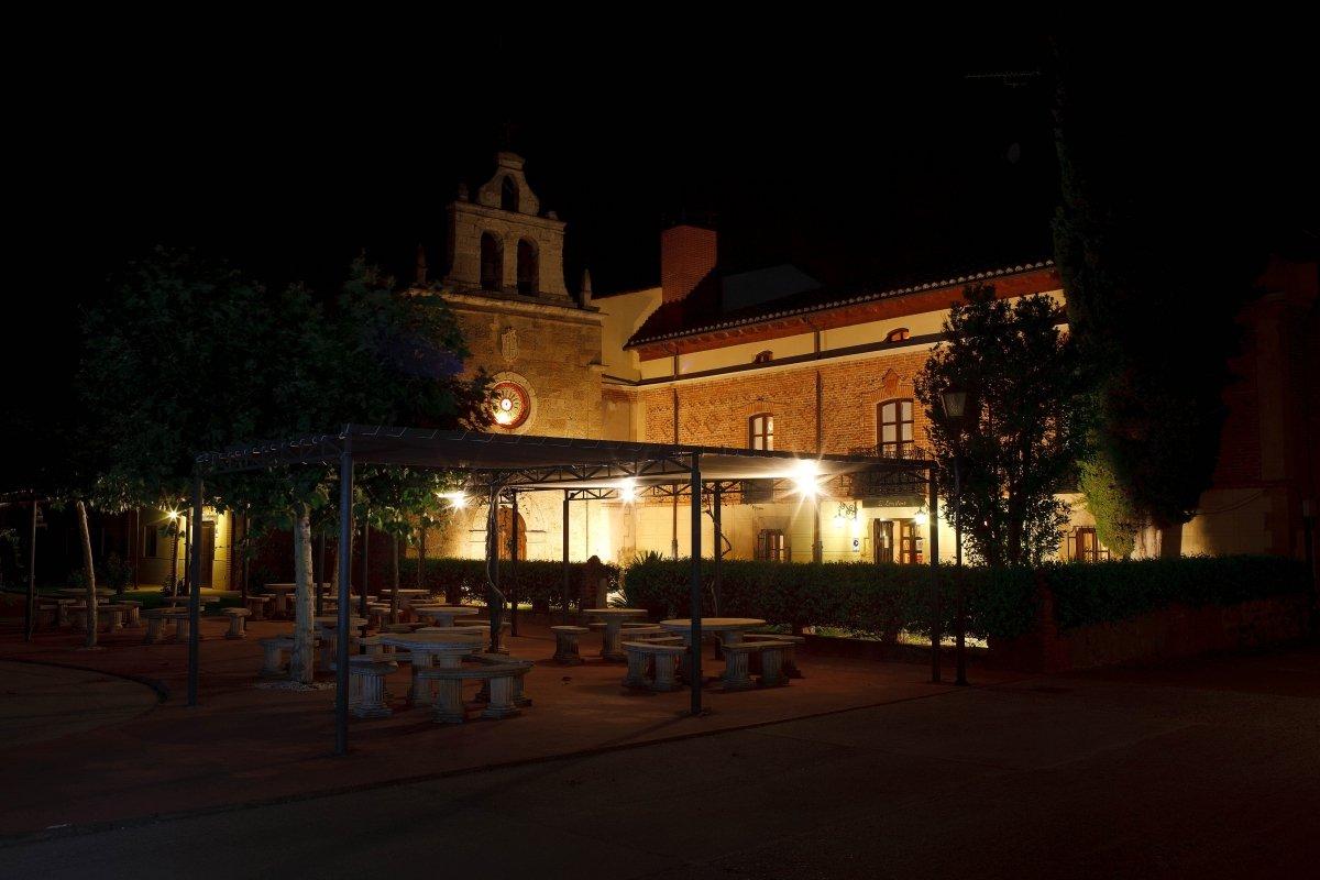 Exterior del restaurante El Ermitaño