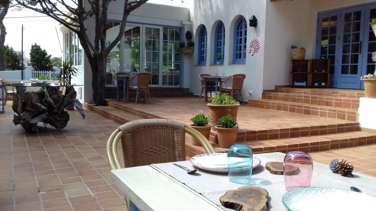 Exterior del restaurante Es Tragón de Ibiza