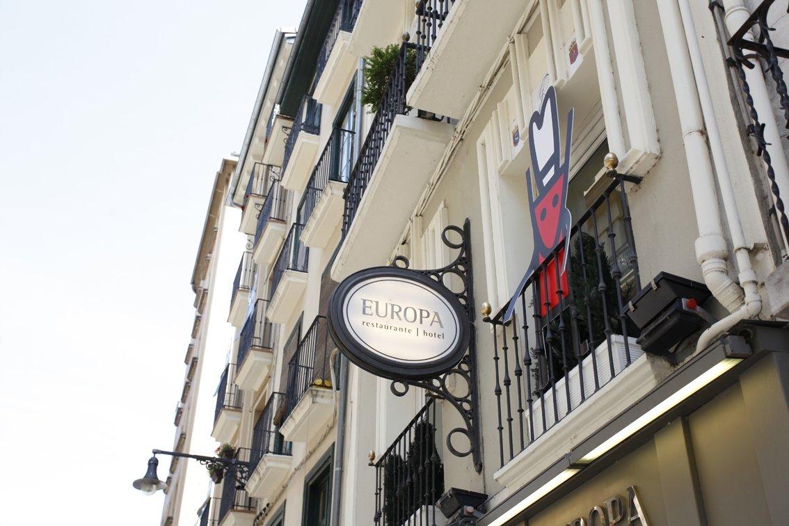 Exterior del Restaurante Europa