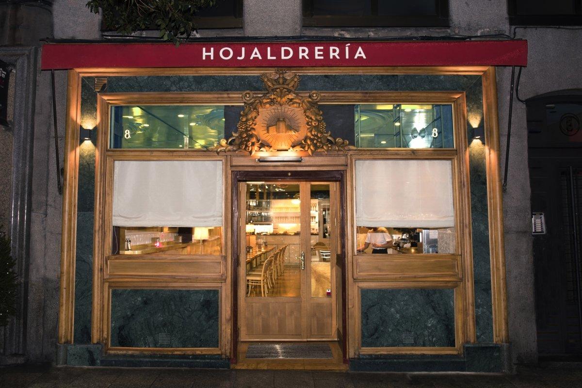 Exterior del restaurante Hojaldrería