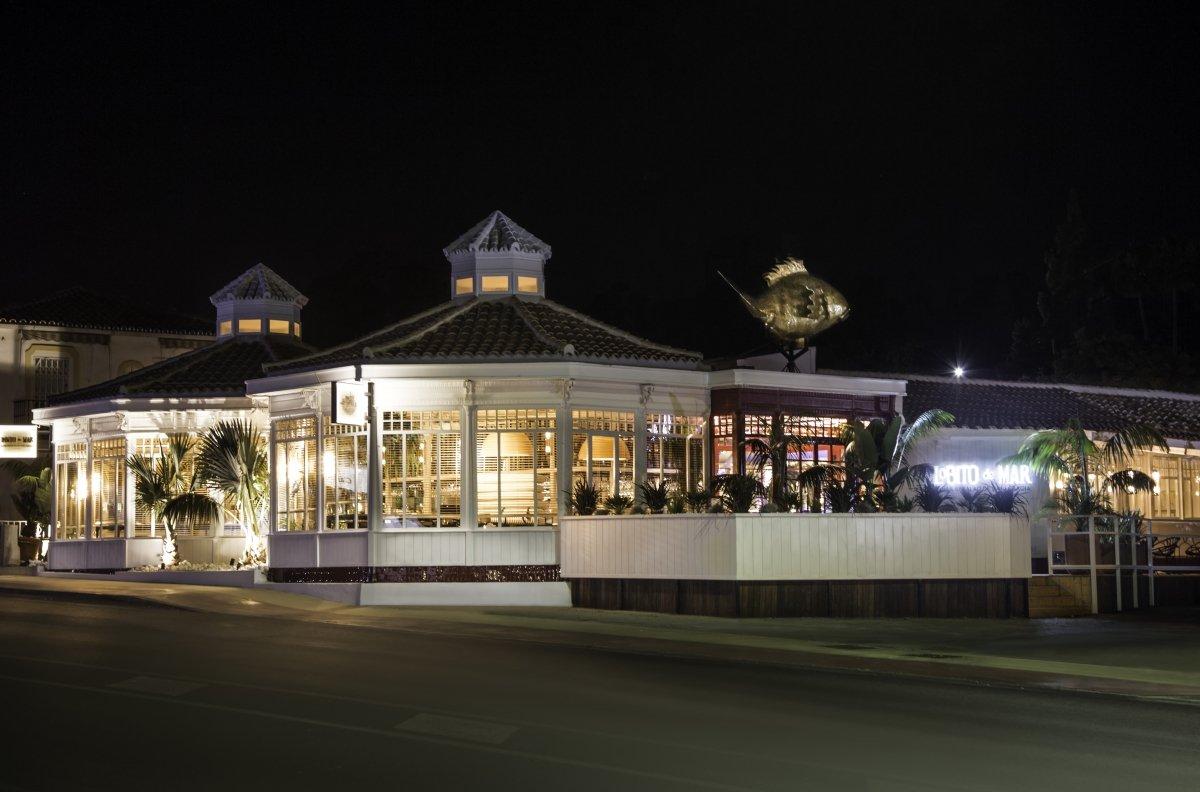 Exterior del restaurante Lobito de Mar