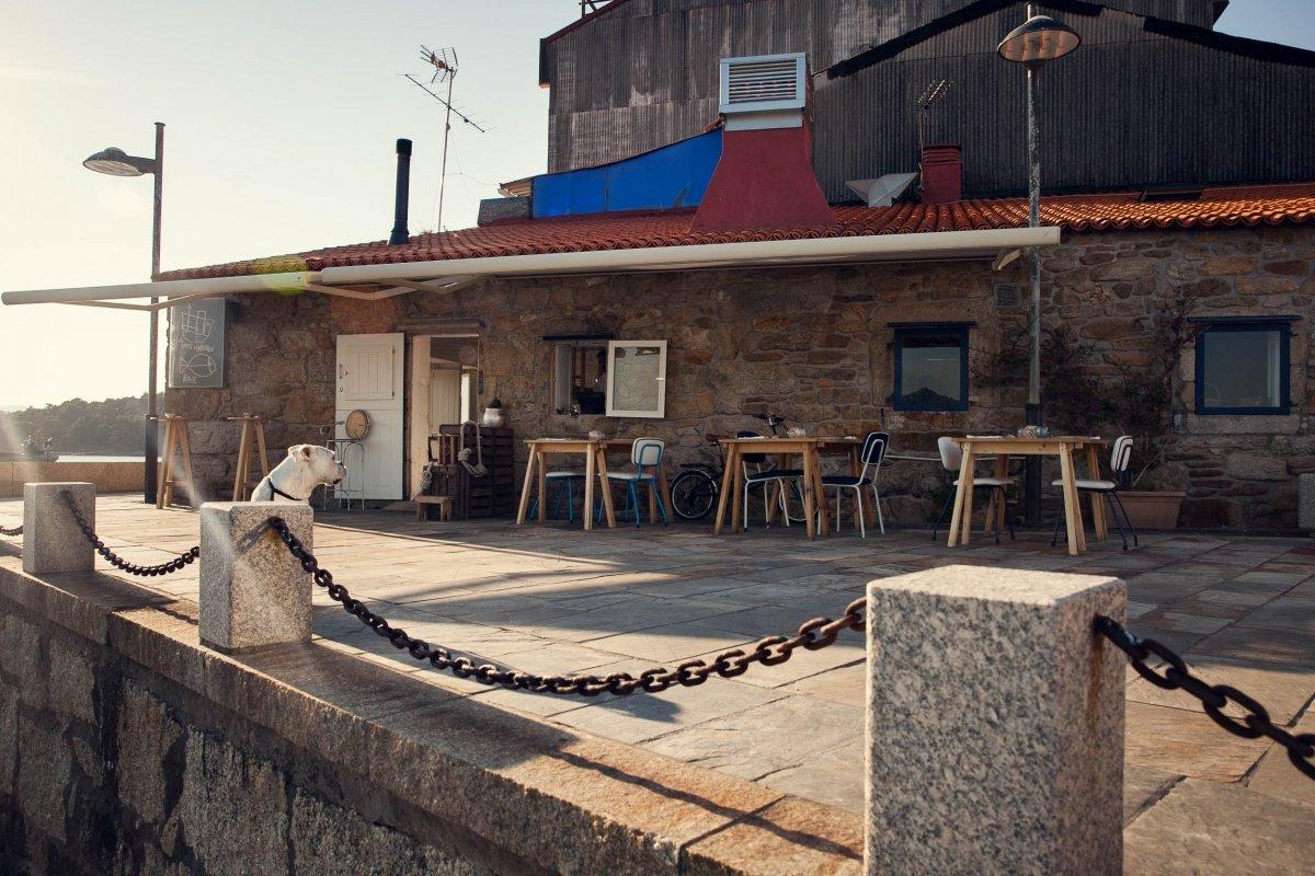 Exterior del restaurante Loxe Mareiro