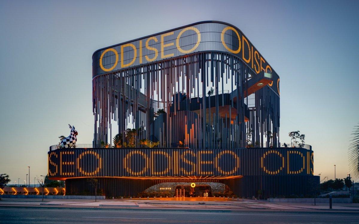 Exterior del restaurante Odiseo