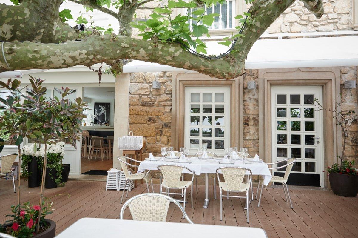 Exterior del restaurante Rekondo