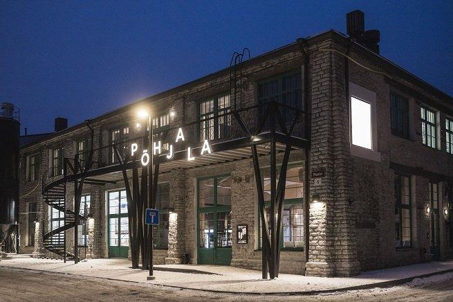 Exteriores de la fábrica y taproom de Põhjala Brewery