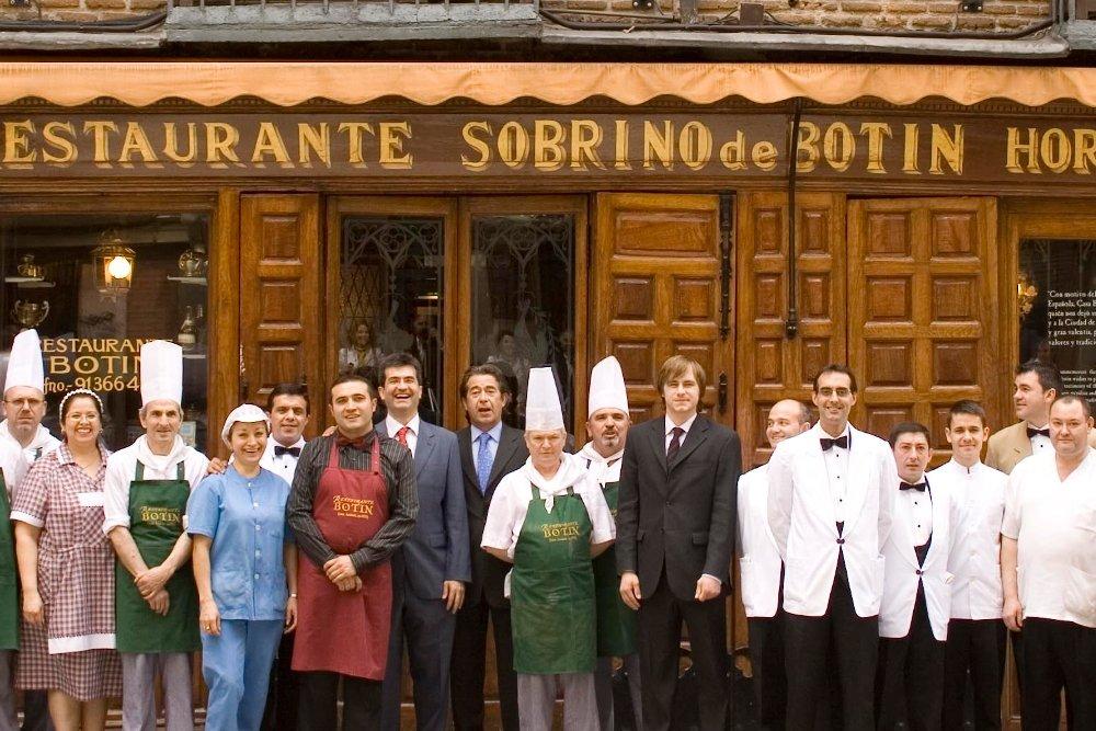 Fachada de Casa Botín, el restaurante más antiguo de Madrid