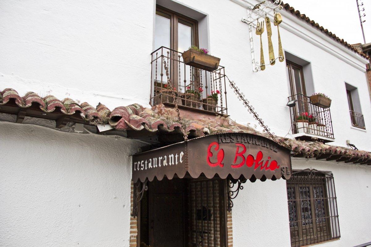 Fachada del restaurante El Bohío