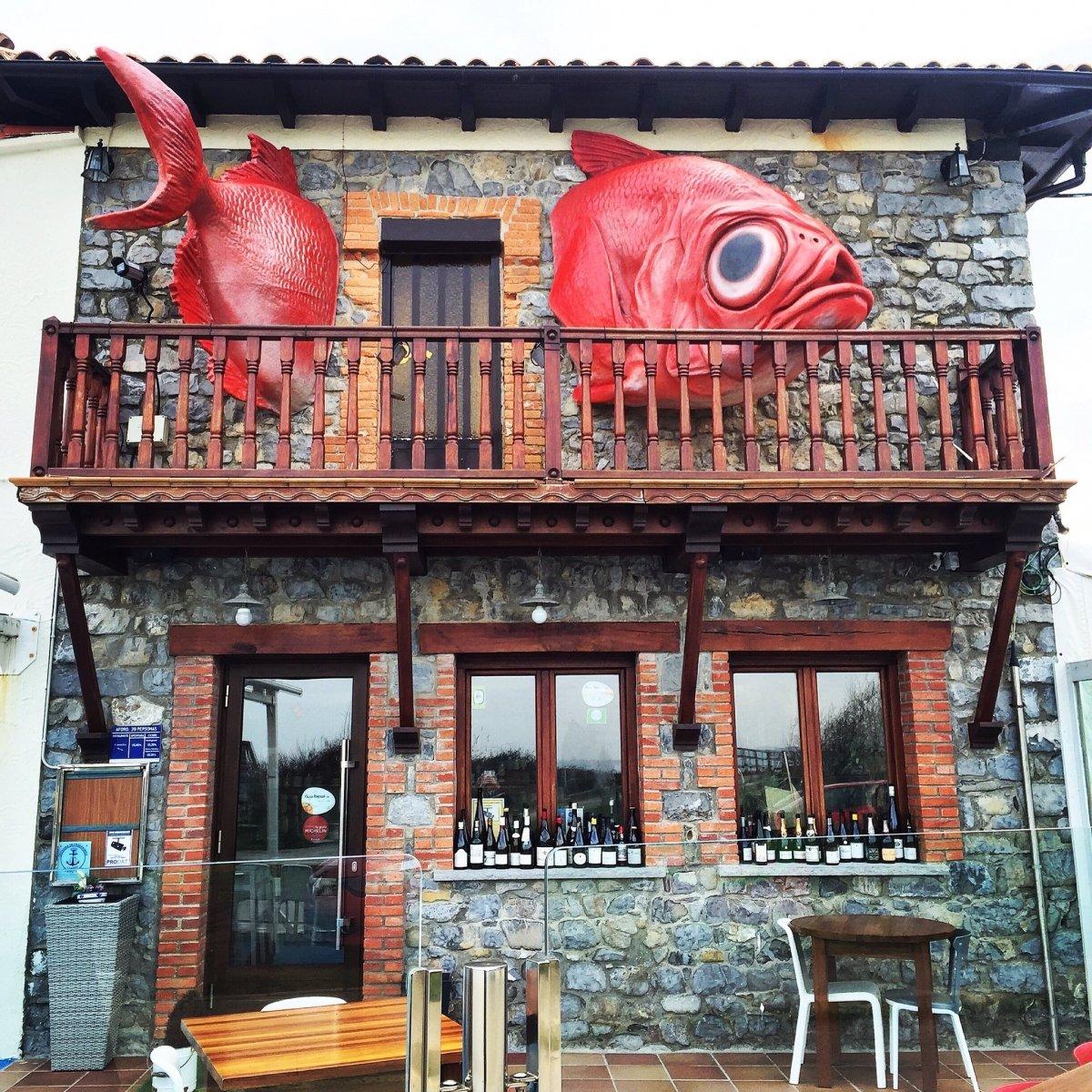 Fachada del restaurante Güeyu Mar