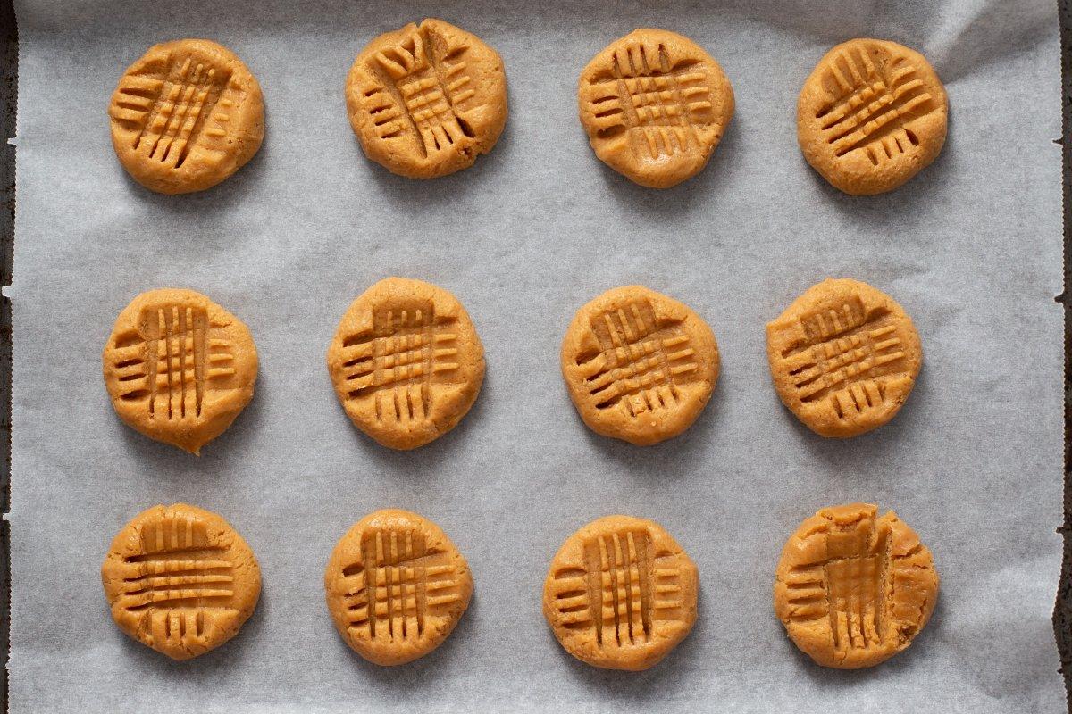 Formar las galletas