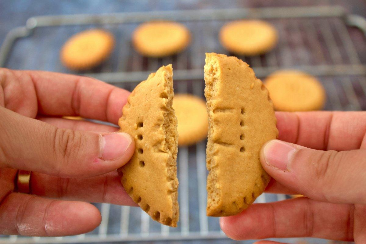 Foto final de las galleta María