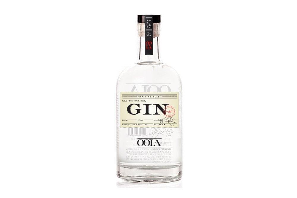 Fotografía de la botella de Oola Gin