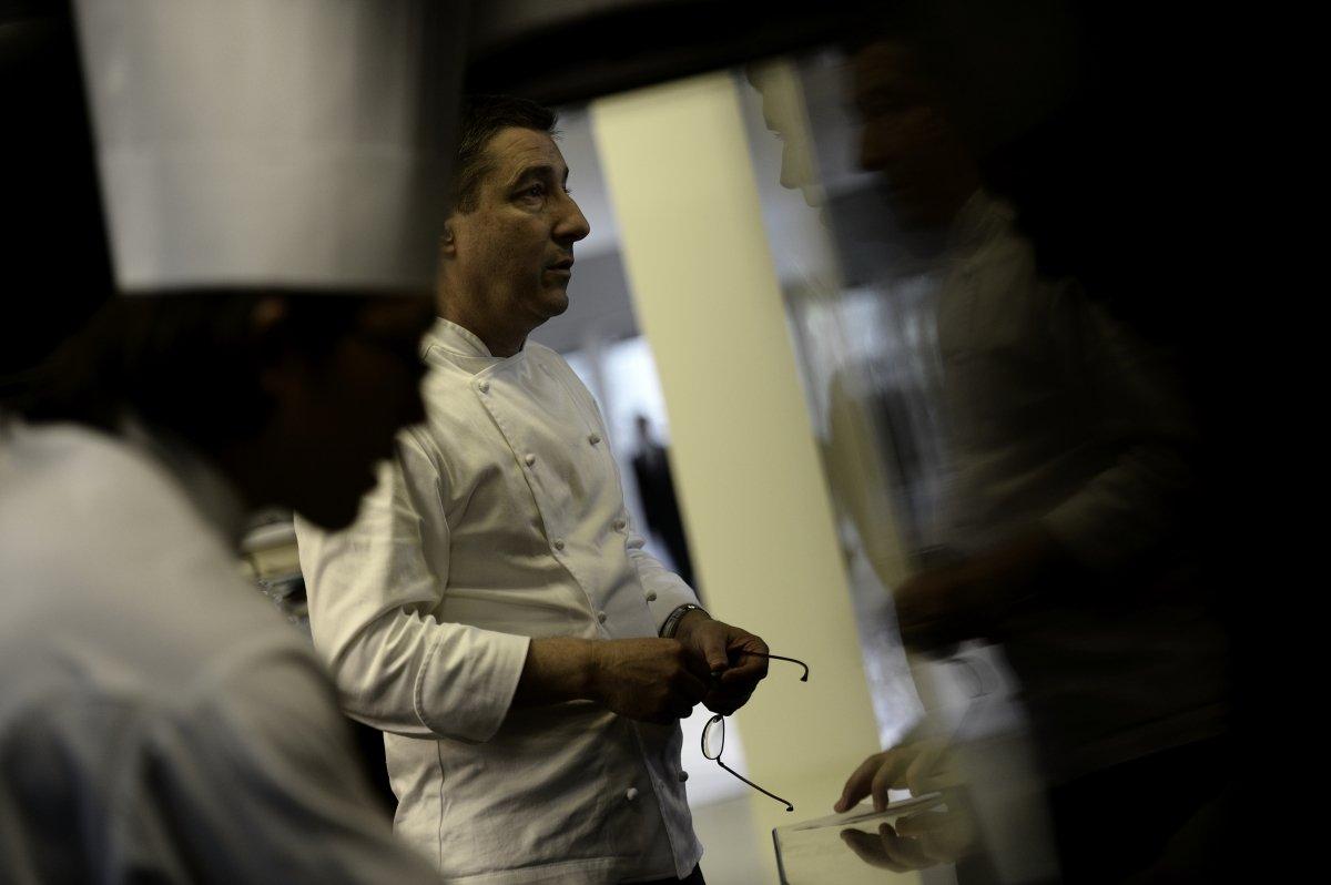 Fotografía de la cocina de El Celler de Can Roca