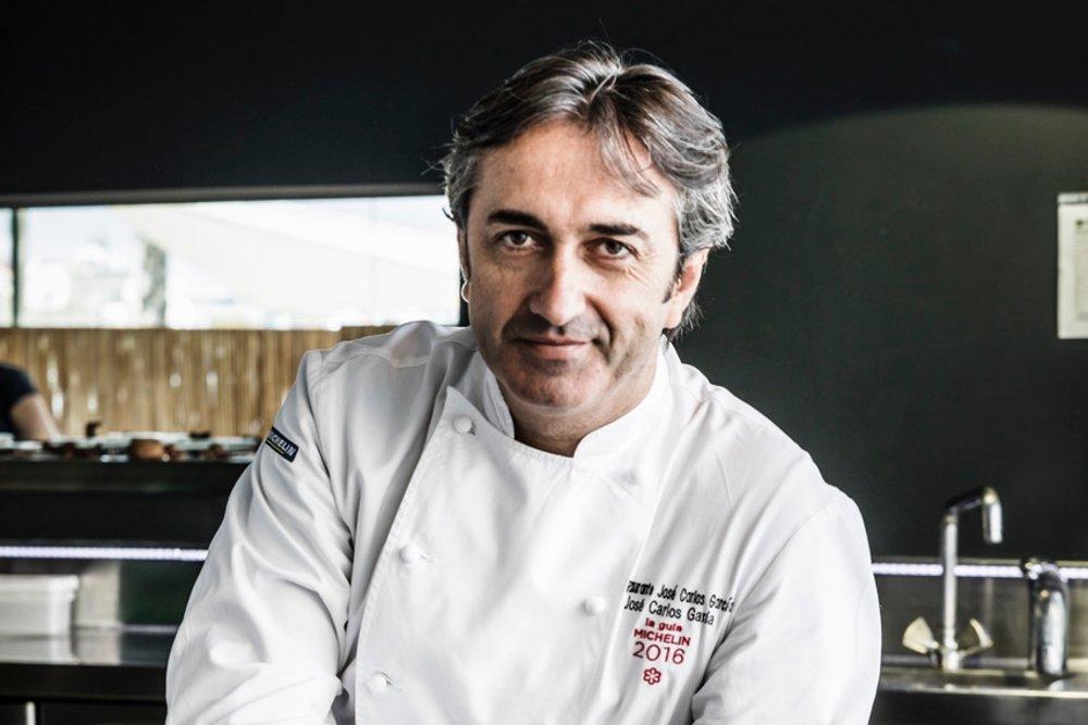Fotografía del chef José Carlos García