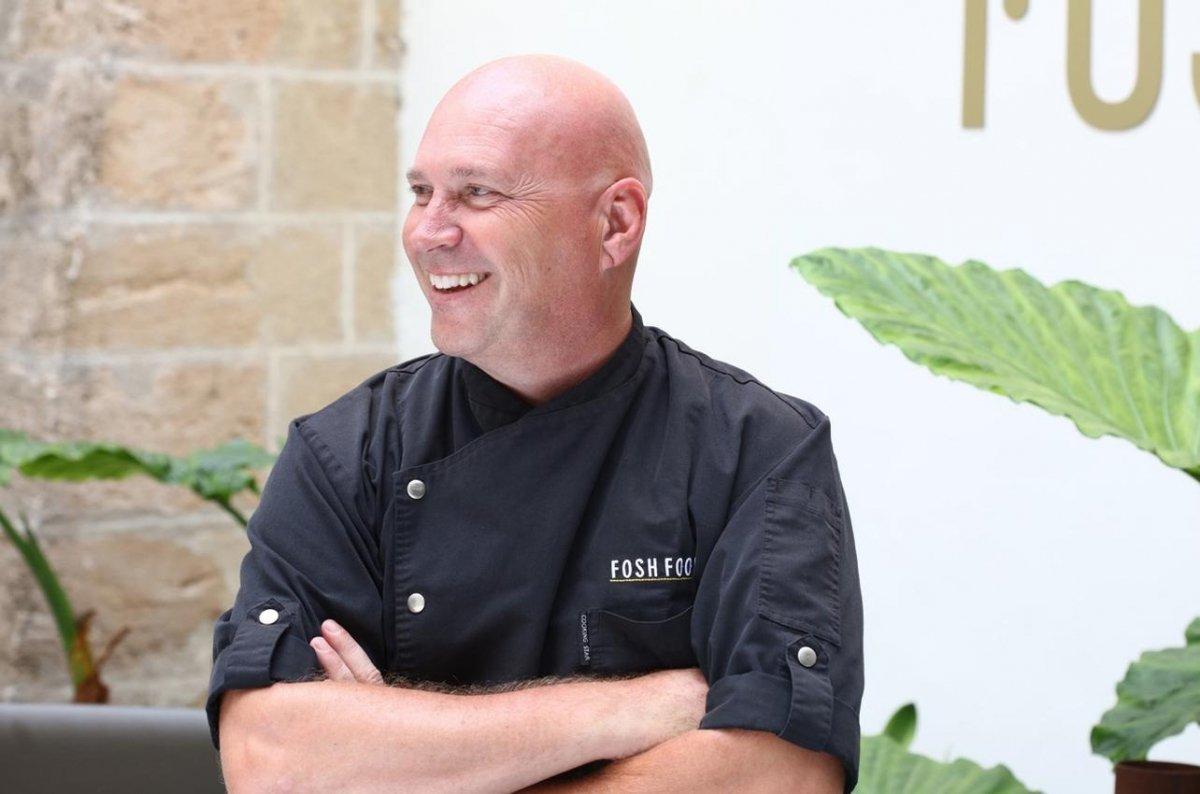 Fotografía del chef Marc Fosh