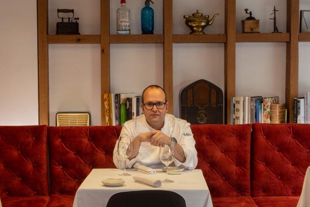 Fotografía del chef Vicente Patiño