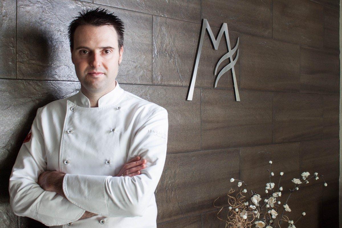 Fran Martínez es el chef del restaurante Maralba en Almansa