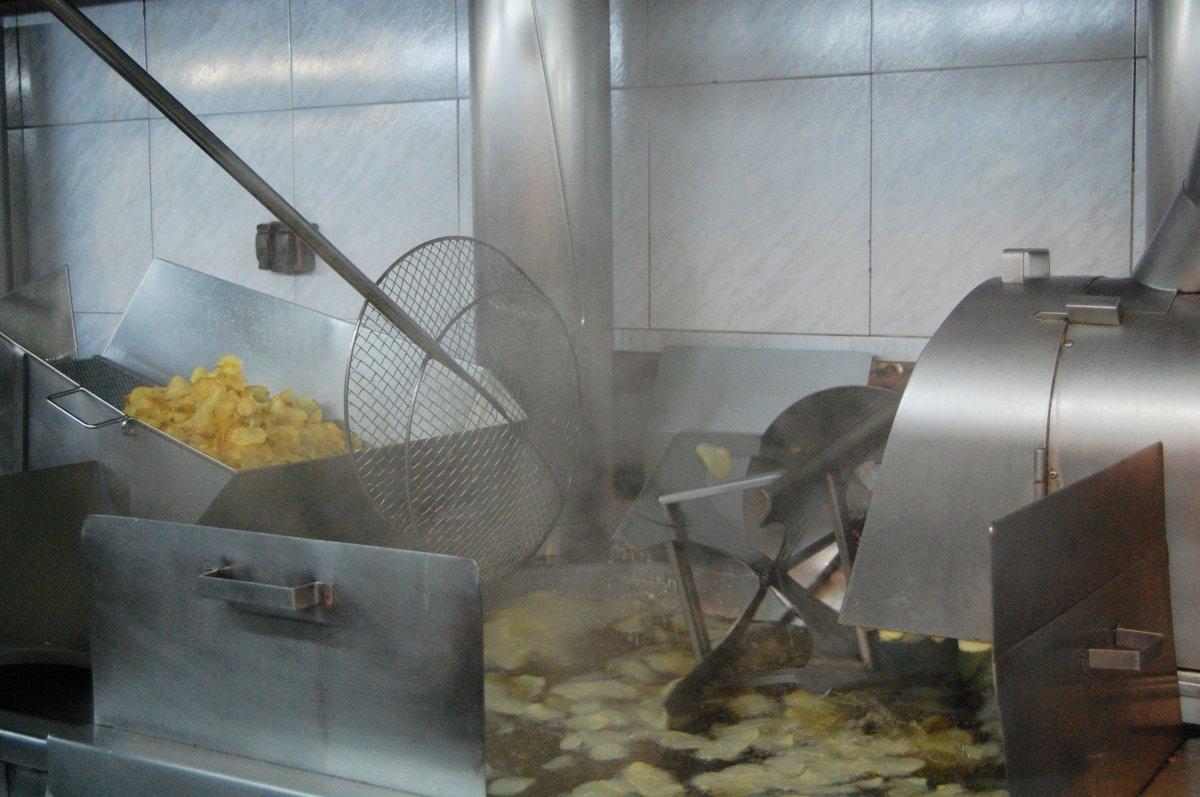 Freidora de Patates fregides Corominas