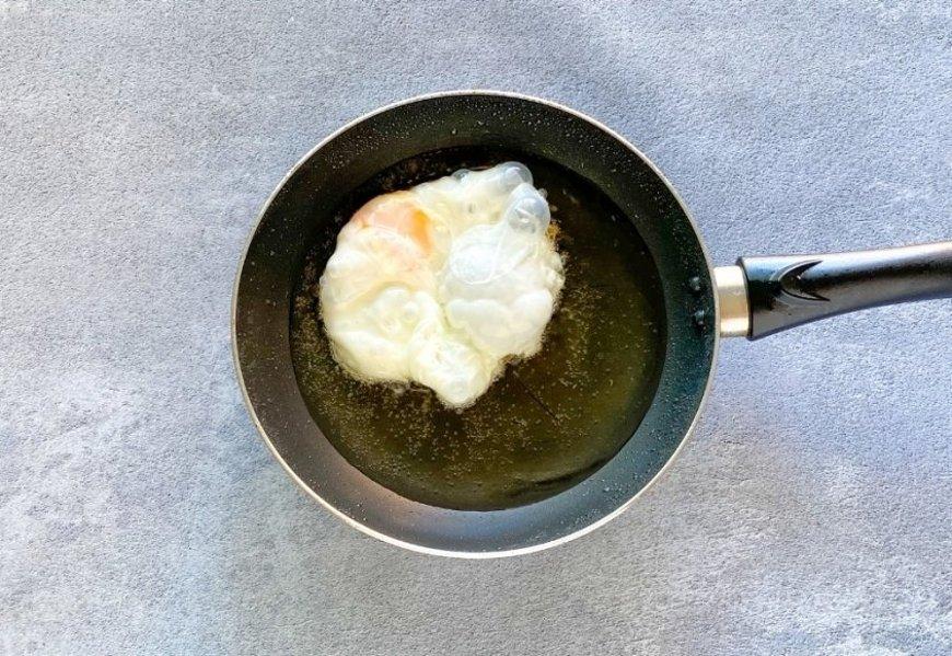 Freír los huevos