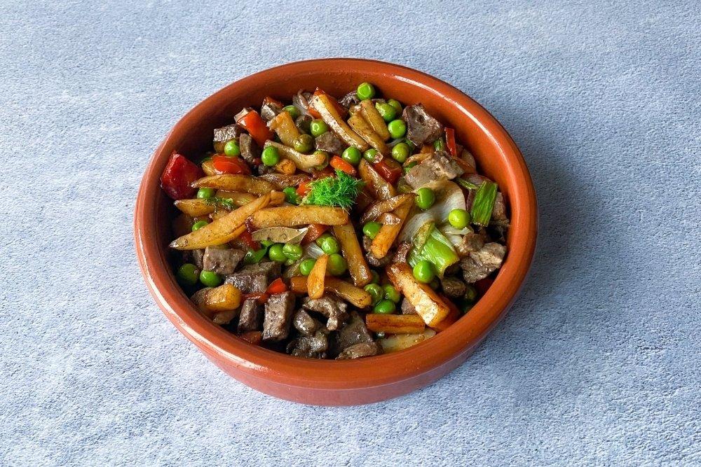 Frito mallorquín tradicional