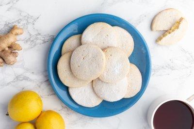 Galletas de limón y jengibre