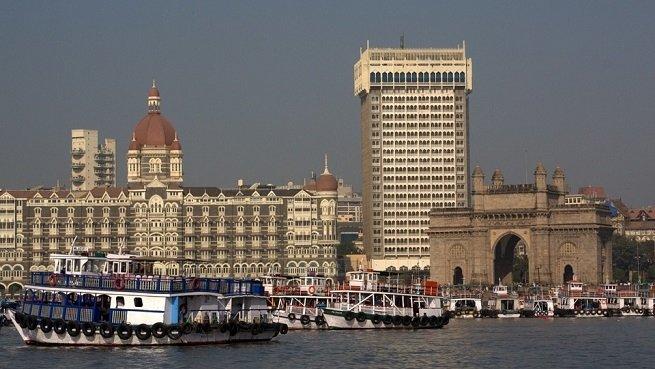 Gateway de India en Bombay, punto de entrada a la ciudad por mar