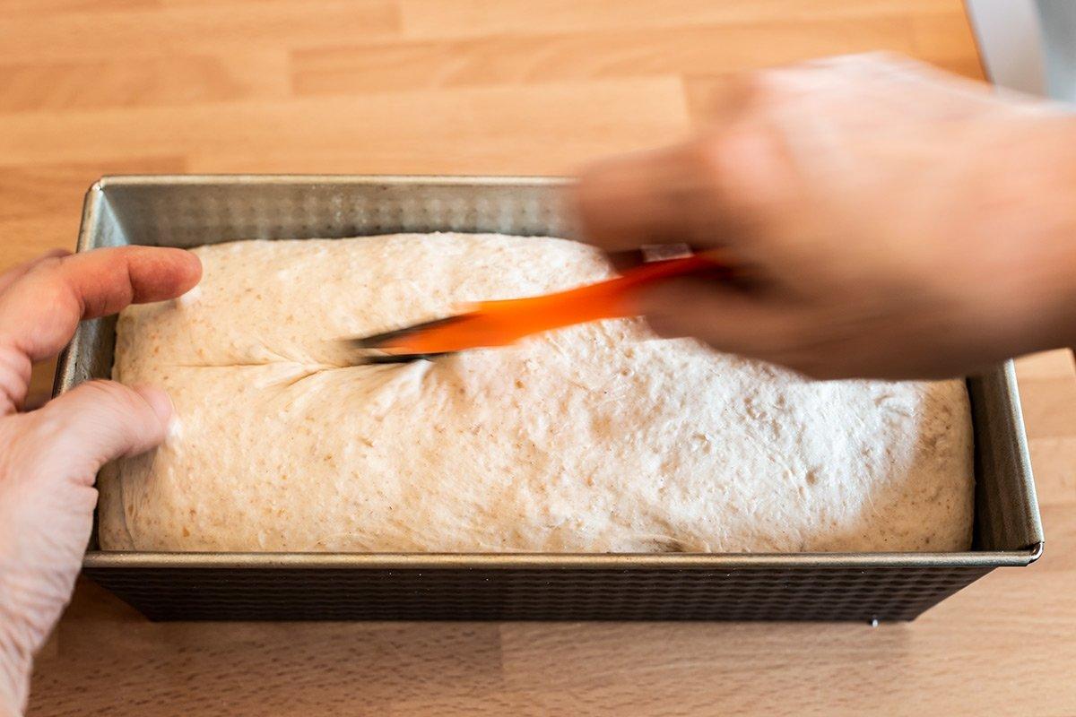 Greñar el pan de molde