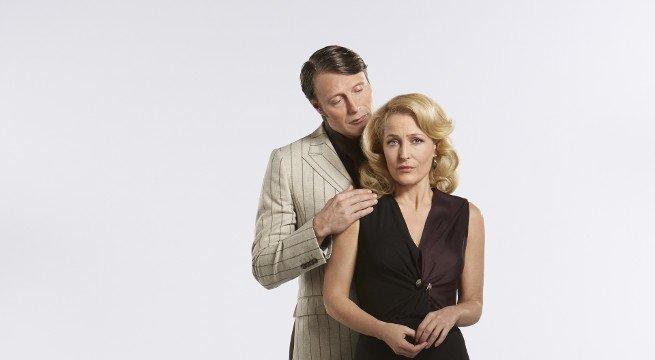 Hannibal Lecter junto a su psiquiatra en la ficción televisiva
