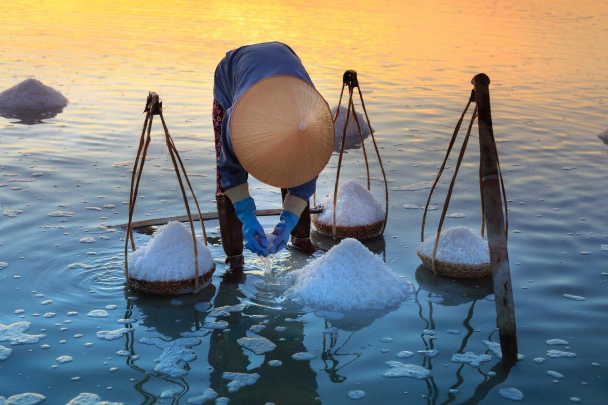 Hay diferentes tipos de sal según su procedencia
