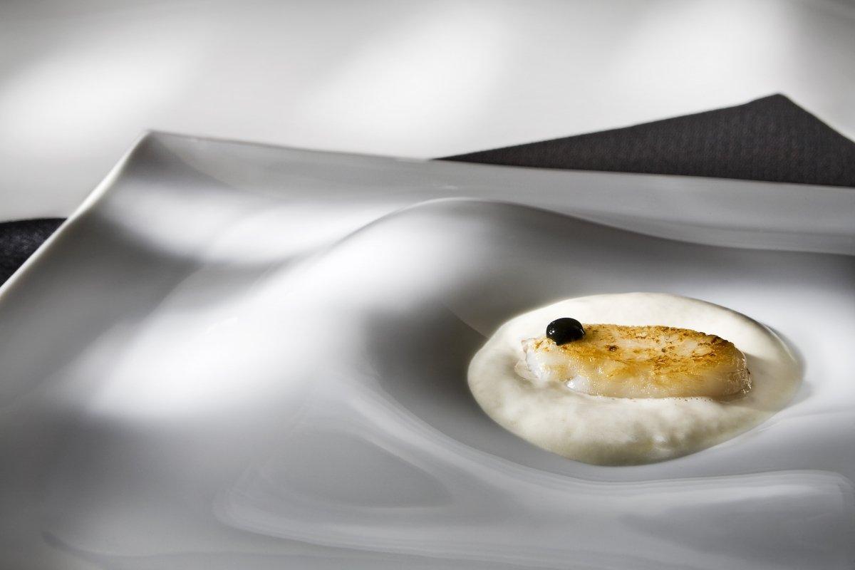Huevas de calamar del restaurante Messina