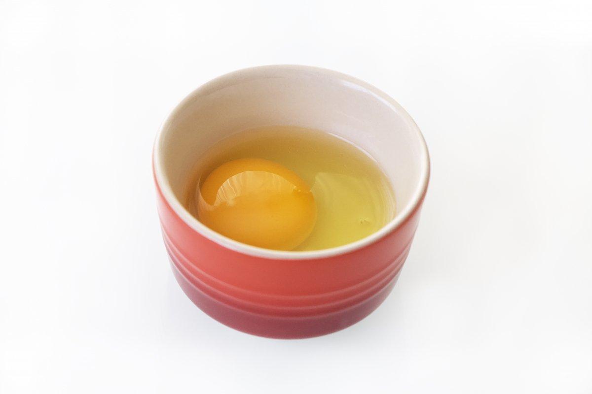 Huevo en un cuenco