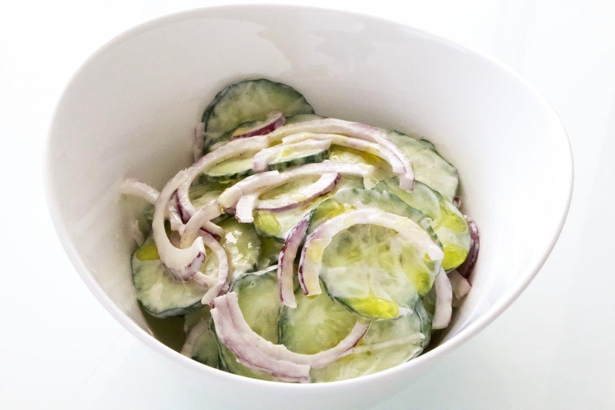 Imagen de la ensalada de pepino