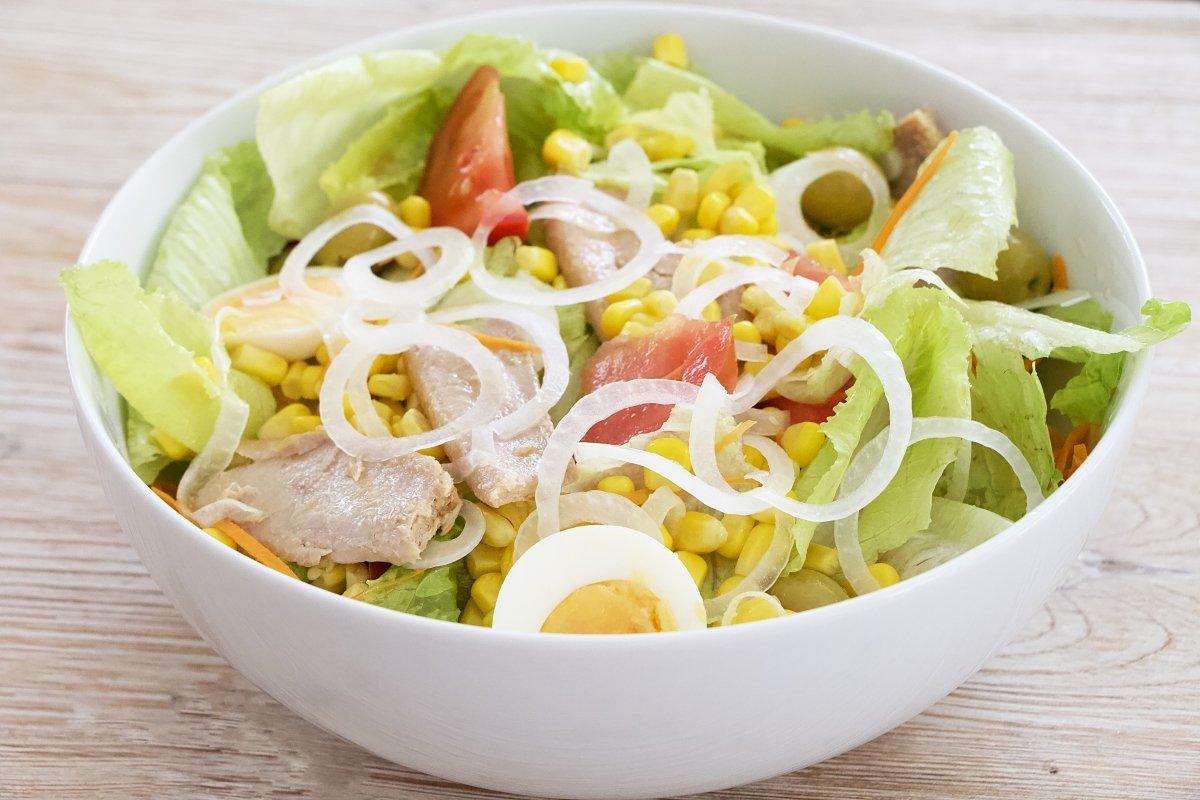 Imagen de la ensalada mixta