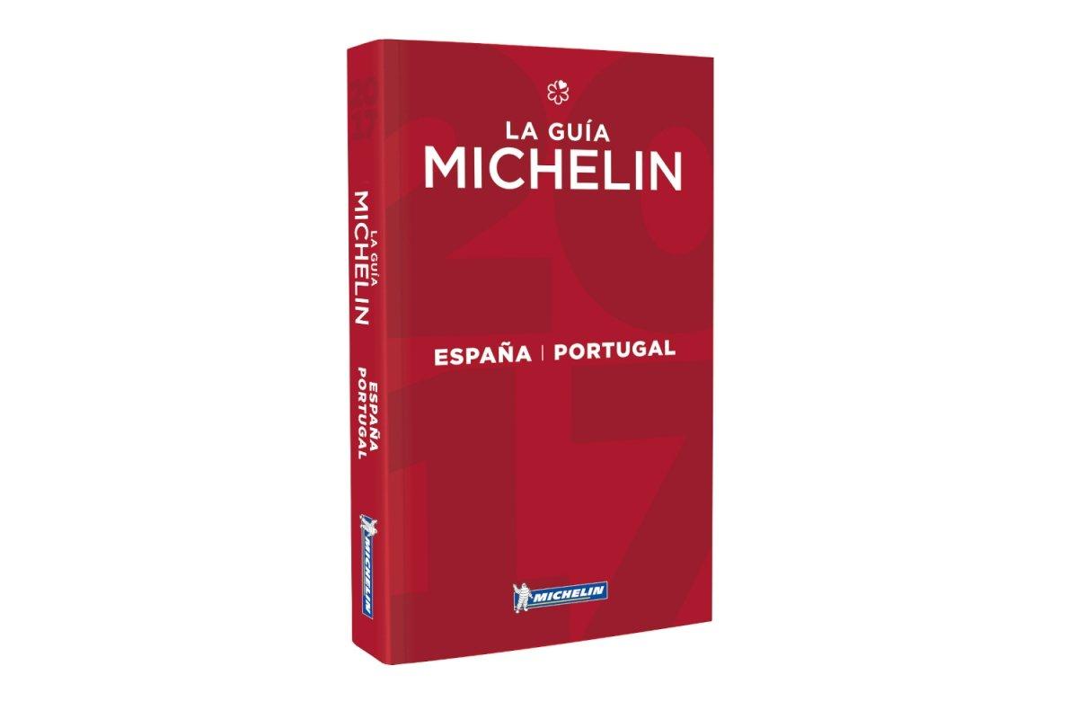 Imagen de un ejemplar de la Guía Michelin