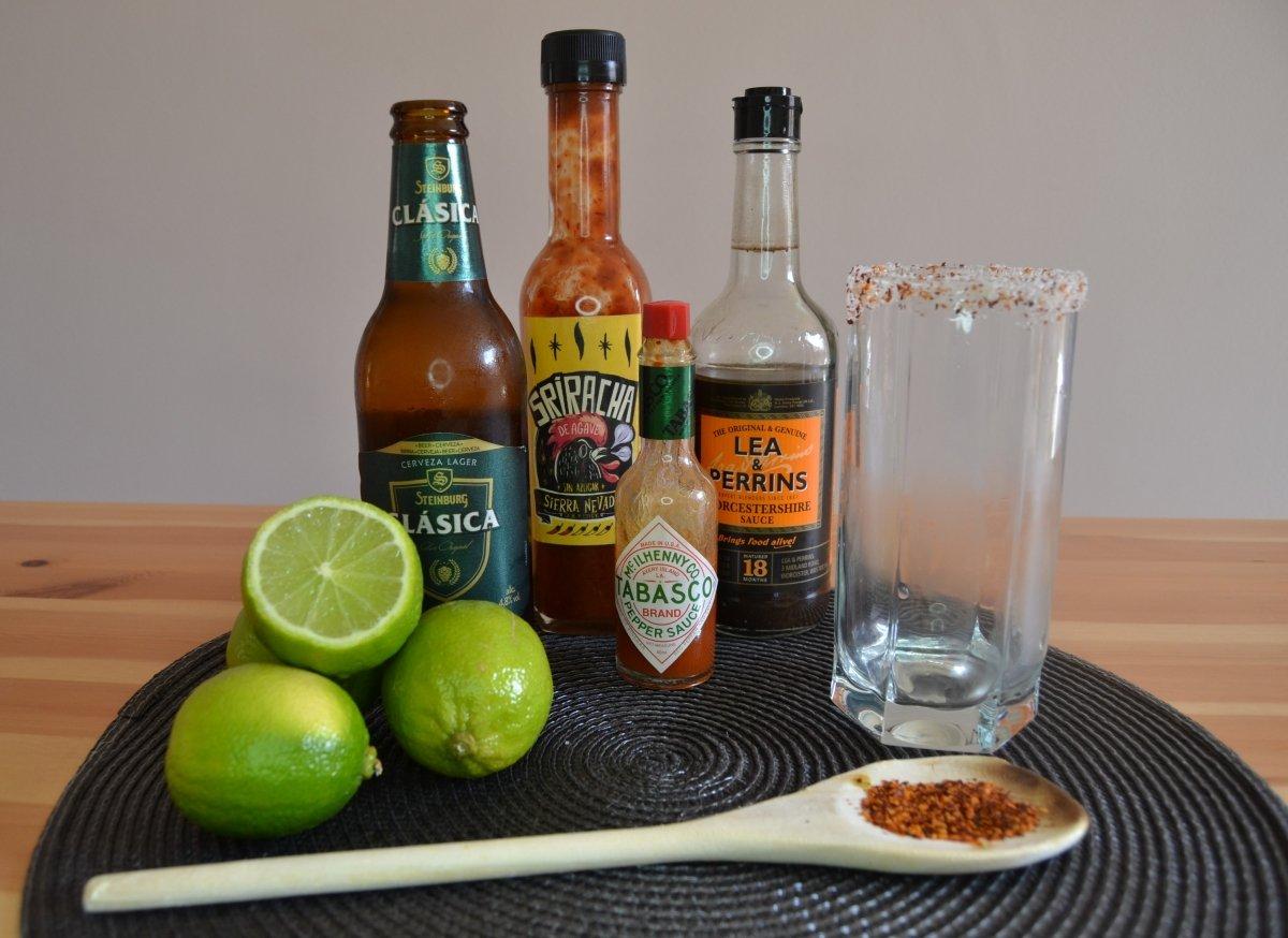 Ingredientes de la Michelada