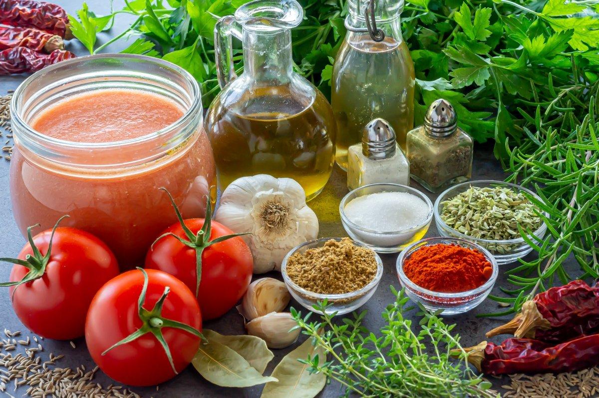 Ingredientes de la salsa gaucha
