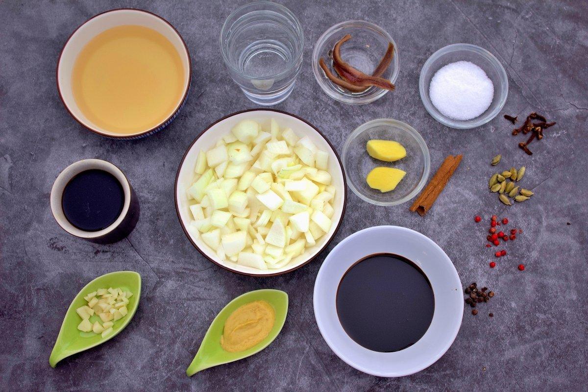 Ingredientes de la salsa worcertershire