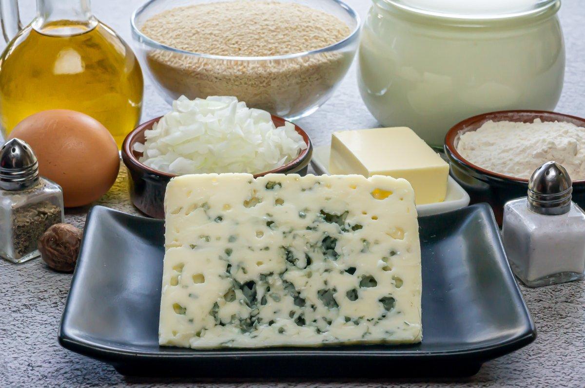 Ingredientes de las croquetas de queso azul