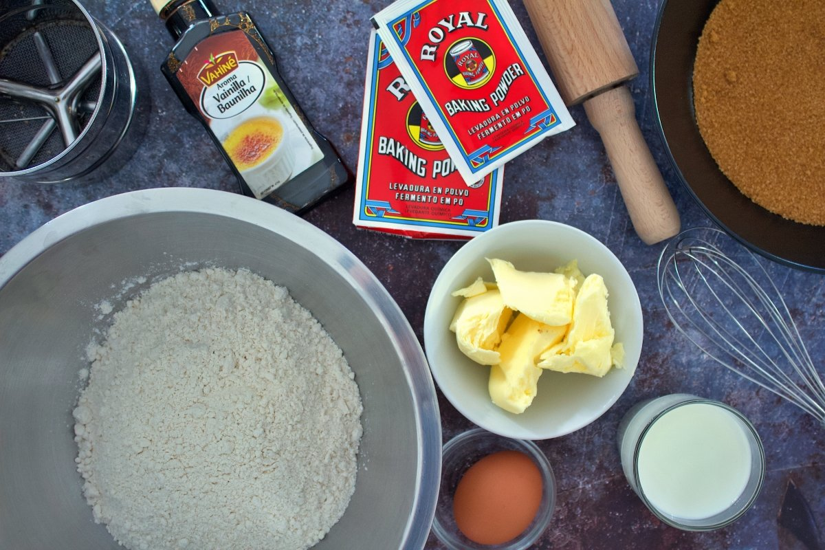 Ingredientes de las galletas María