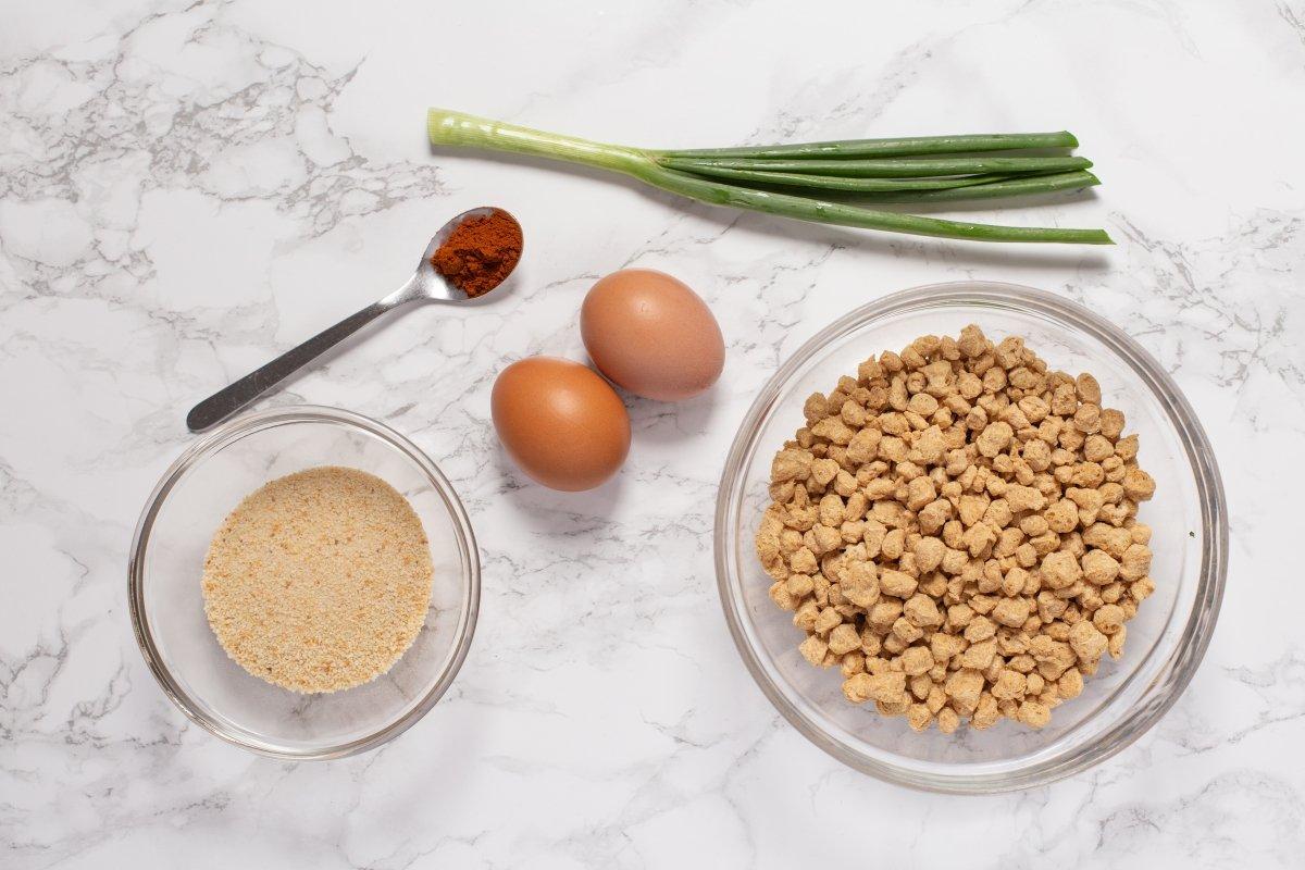 Ingredientes de las hamburguesas de soja