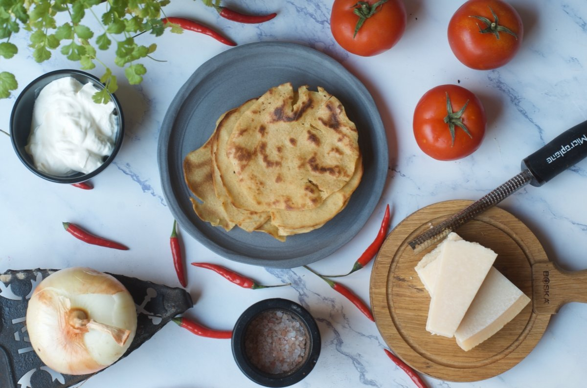 ingredientes de los chilaquiles