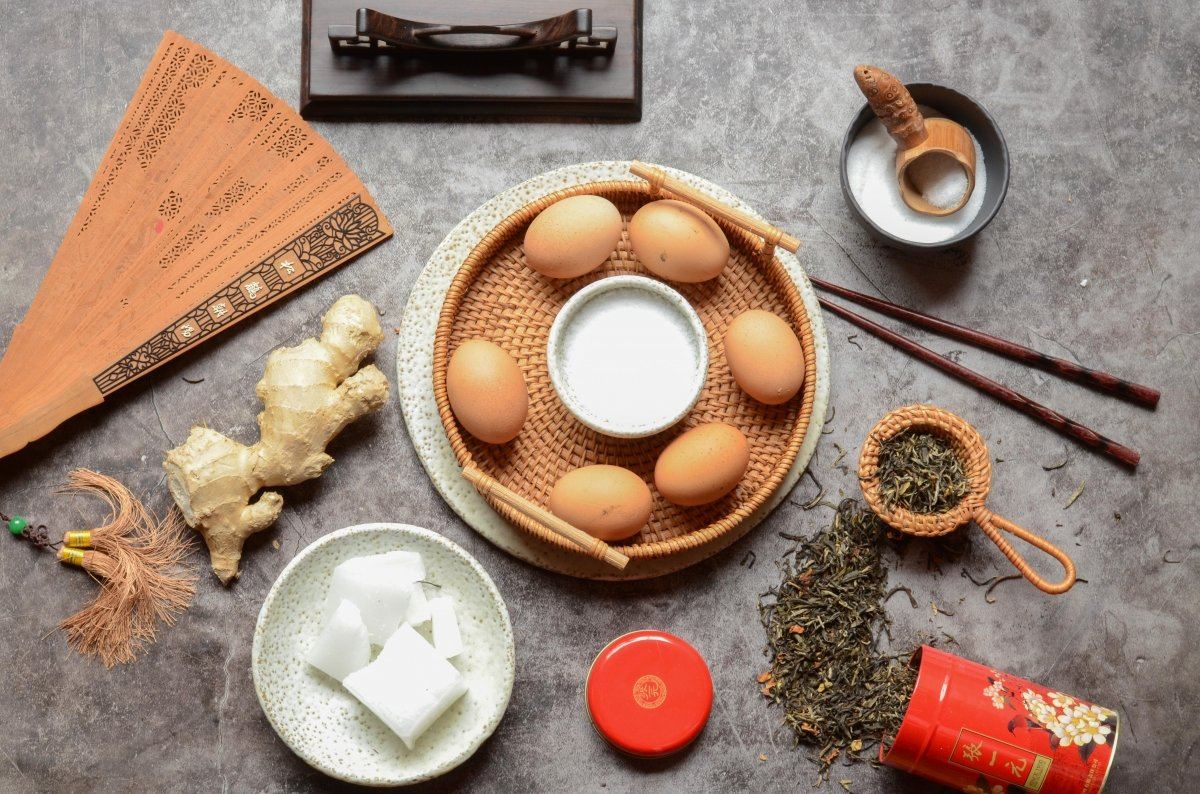 Ingredientes de los huevos milenarios