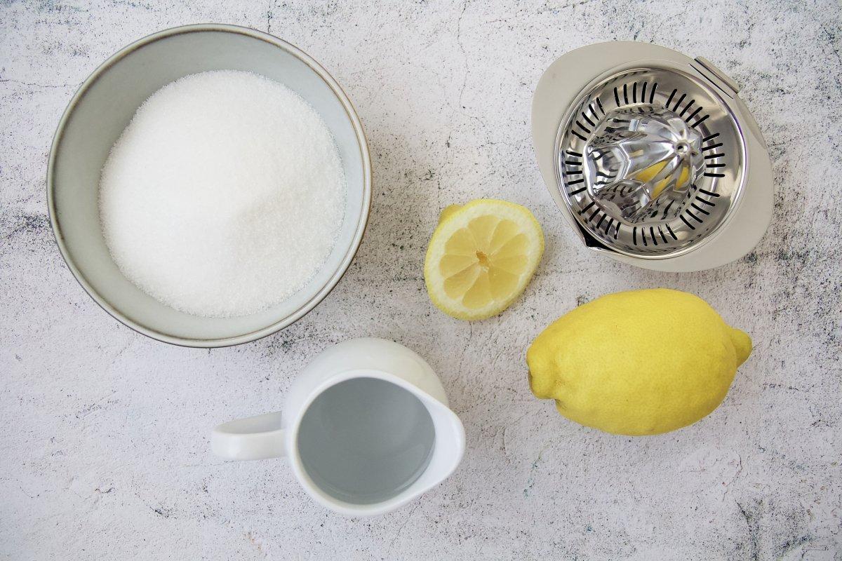 Ingredientes del azúcar invertido