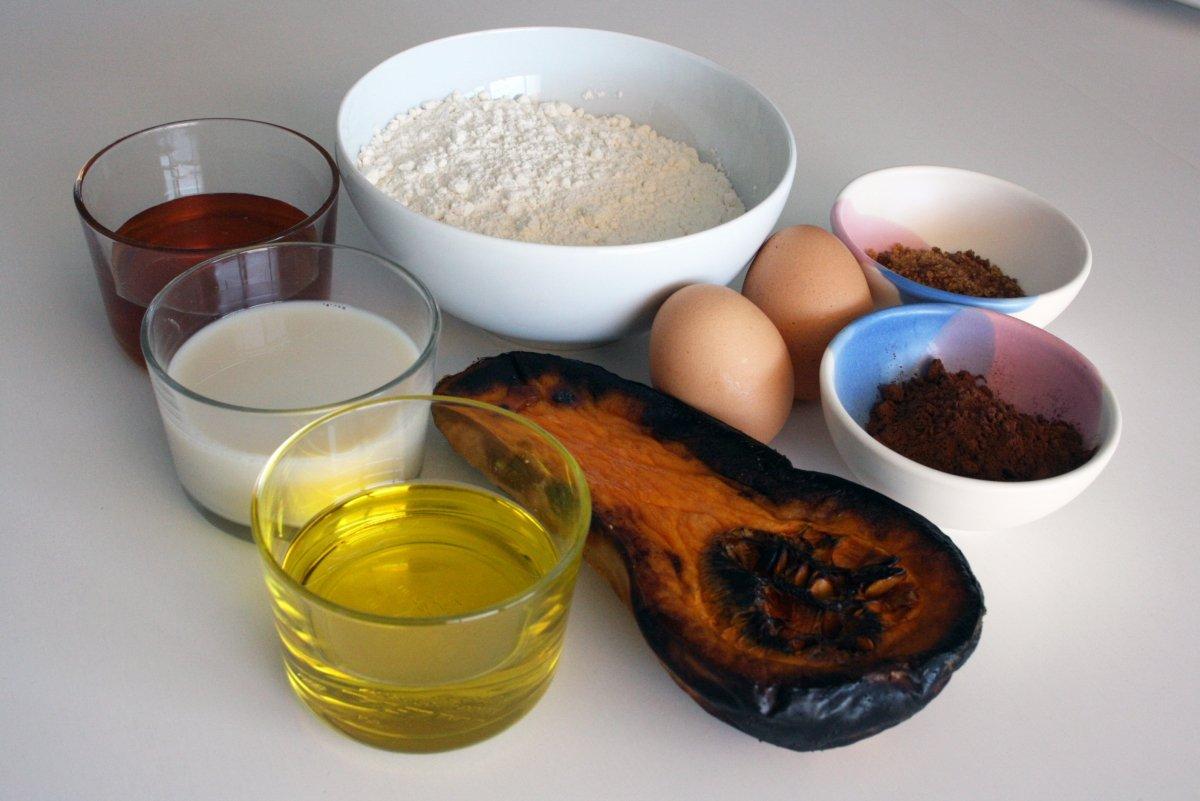 Ingredientes del bizcocho de cabalaza