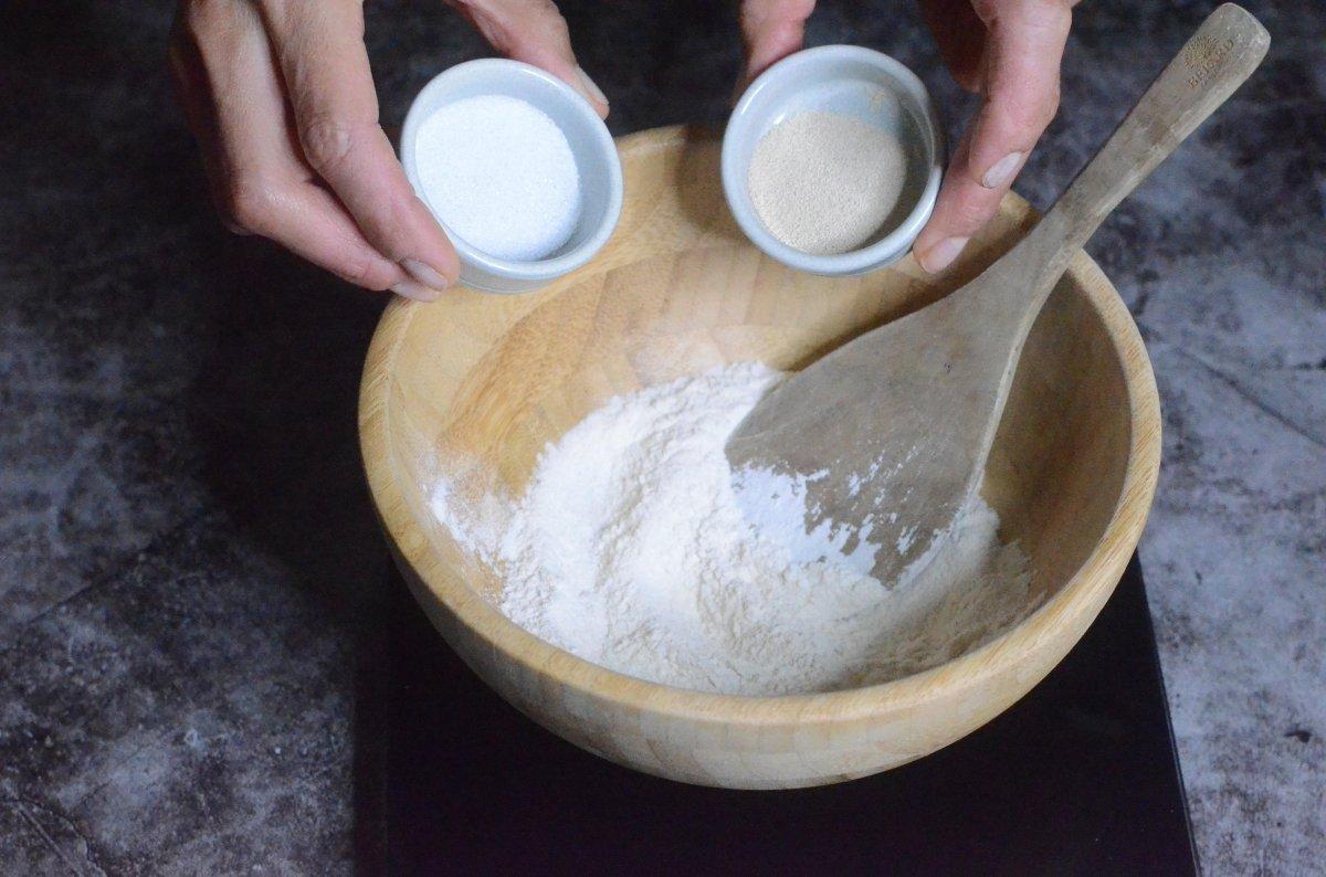 Ingredientes del fermento