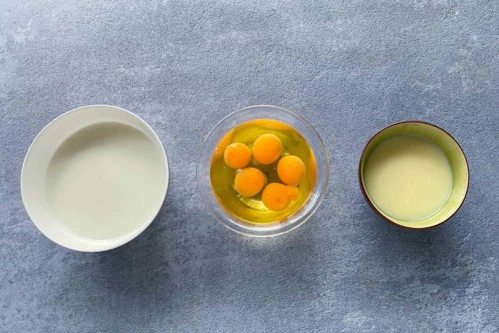 Ingredientes para elaborar flan de leche condensada