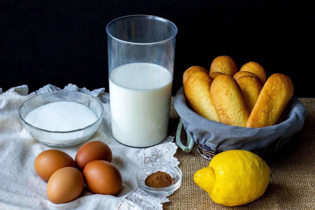 Ingredientes para hacer el pan de Calatrava
