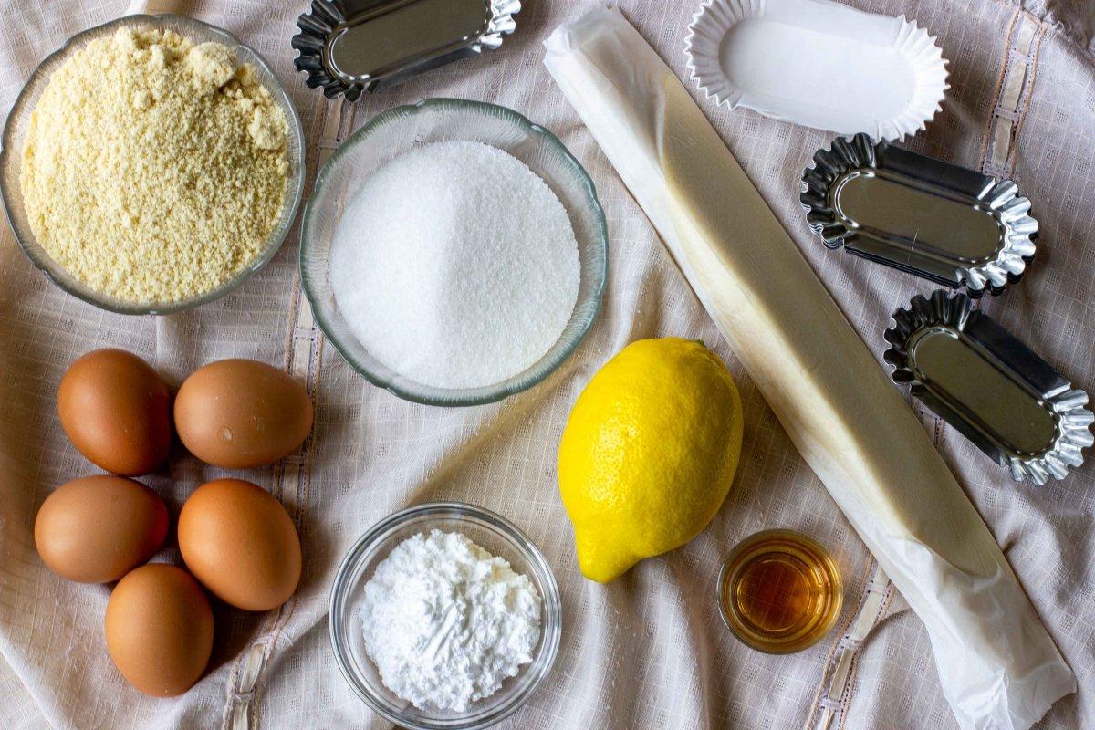 Ingredientes para hacer los carbayones