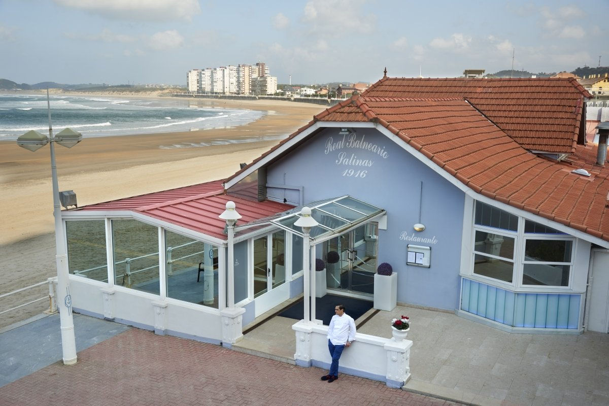 Instalaciones del restaurante Real Balneario de Salinas